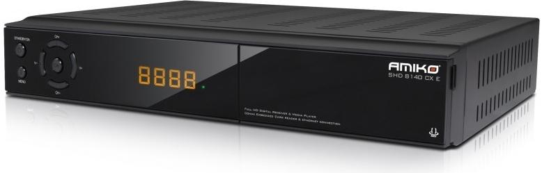 fd058eae1 Satelitný prijímač Amiko HD 8155 s možnosťou príjmu vo Full HD kvalite  1080p. MKV, AVI, MPEG, TS, VOB, MP3, JPEG prehrávanie súborov Nahrávanie na  pripojený ...